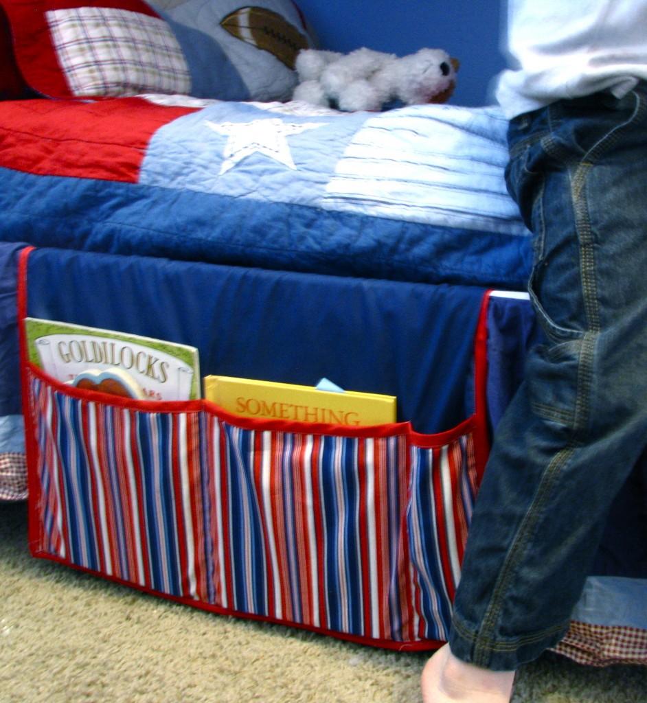 Bedside Pocket Caddy Bedside Book Caddy Made by