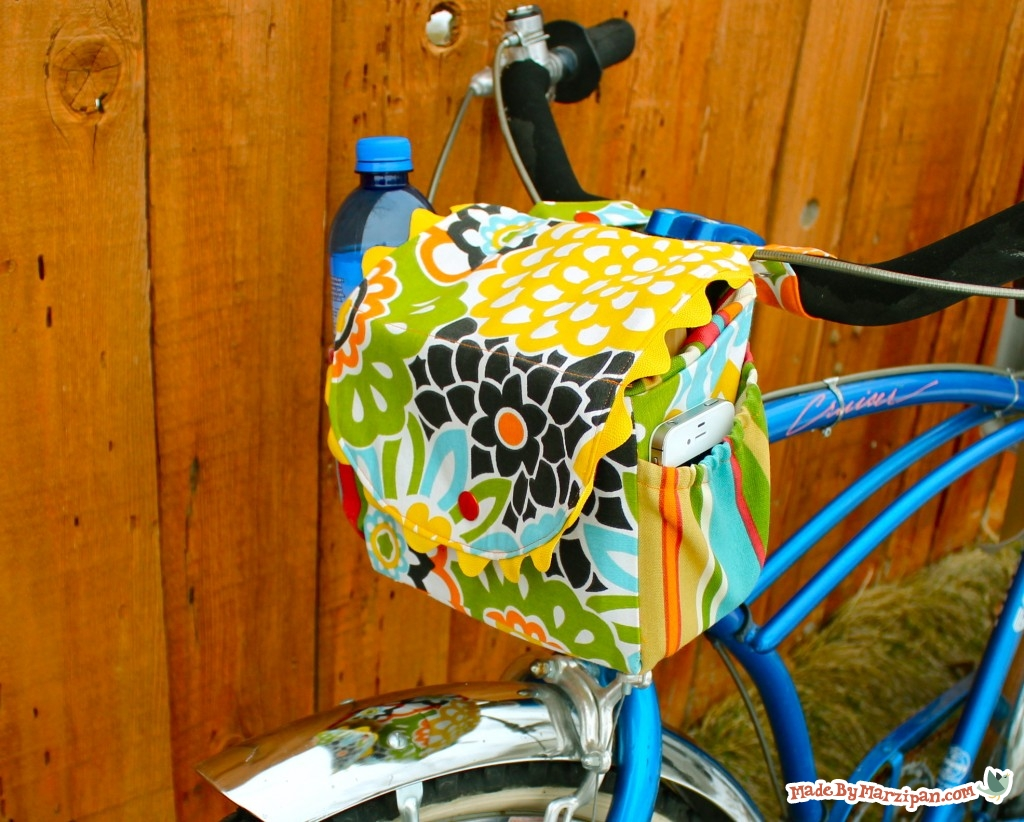 Sew A Cycle Satchel Bike Bag Made By Marzipan