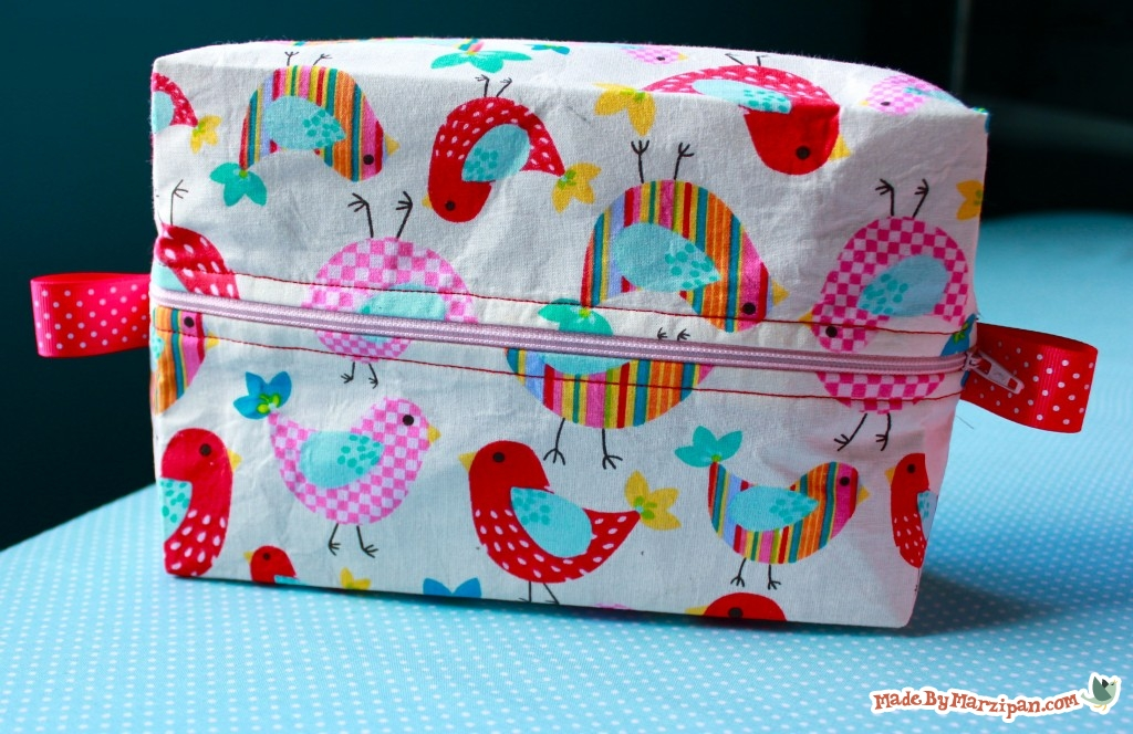 Boxy Cosmetic Bag Made By Marzipan