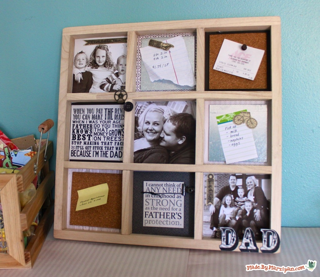 Dad S Memo Board Made By Marzipan