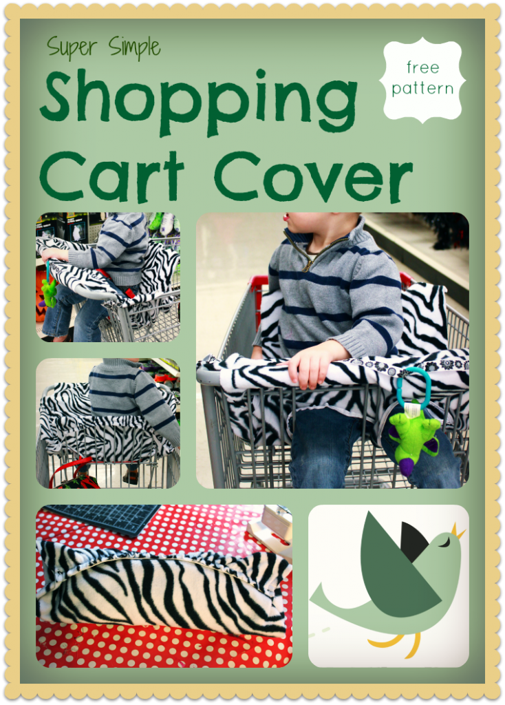 Shopping Cart Cover - Made By Marzipan