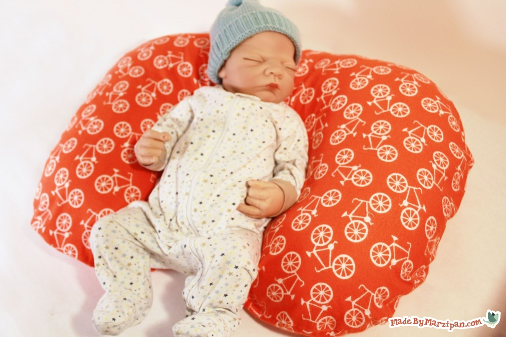 Sew A Poppy Nursing Pillow Made By Marzipan