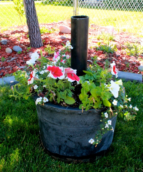 Umbrella Stand Planter