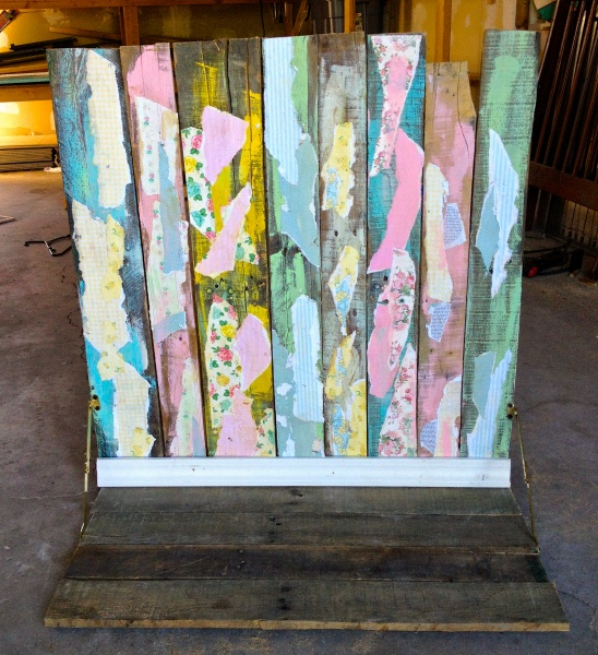 DIY Pallet Backdrop: Made By Marzipan