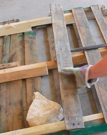 Diy Pallet Backdrop Made By Marzipan