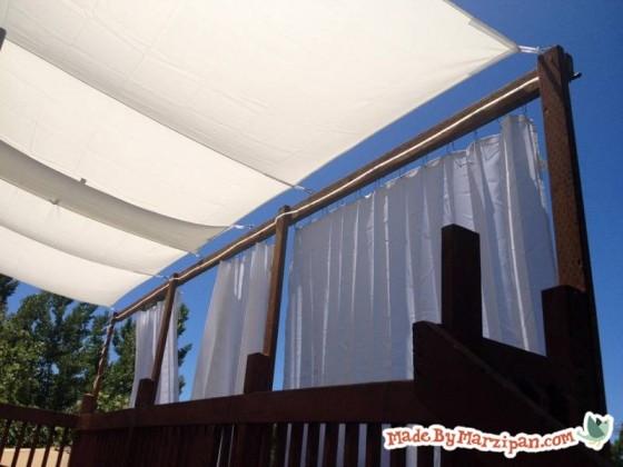 Diy Deck Awning Made By Marzipan