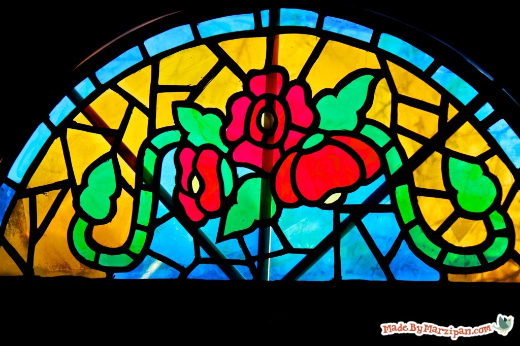 Diy Stained Glass Window.Diy Faux Stained Glass Made By Marzipan