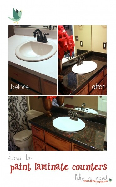 How To Refinish Laminate Counters Made