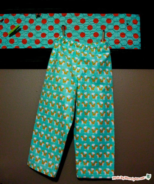 It is an image of Printable Pajama Pants Pattern intended for drawing
