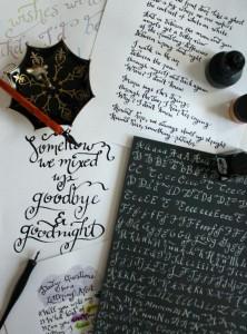 free online calligraphy workshop