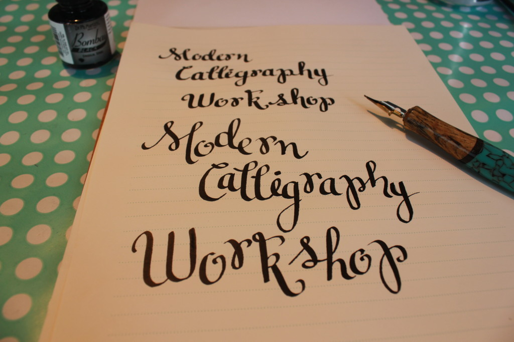 Modern Calligraphy Marcelle Style Made By Marzipan